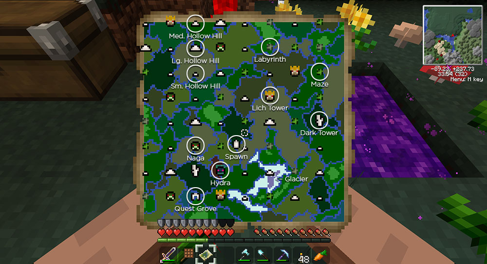 how to build a twilight forest portal